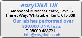 Commandez votre Test Paternité ADN chez easyDNA.